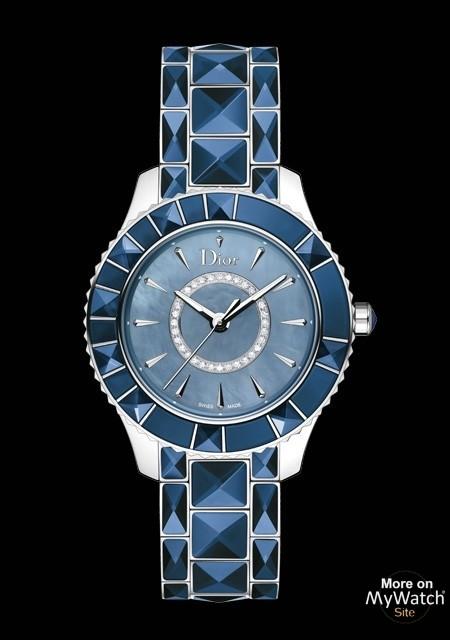 ada19858abfdc4 Dior Dior Christal 33 mm   Dior Christal CD143117M001 Acier ...