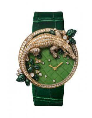 Les Indomptables de Cartier Décor Crocodile