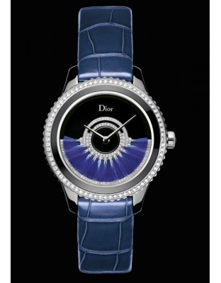 Dior VIII Grand Bal « Plume » Bleue 38 mm