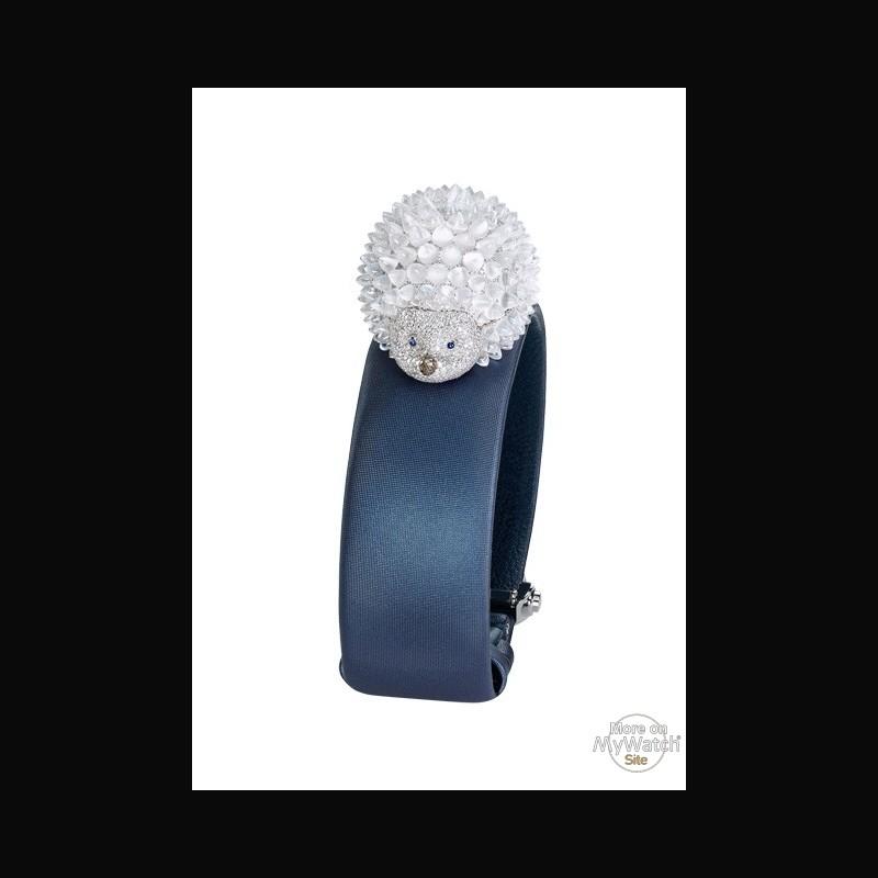 db14c33518fa47 Chopard Montre Hérisson   Haute Joaillerie 124446-1001 Or Blanc ...